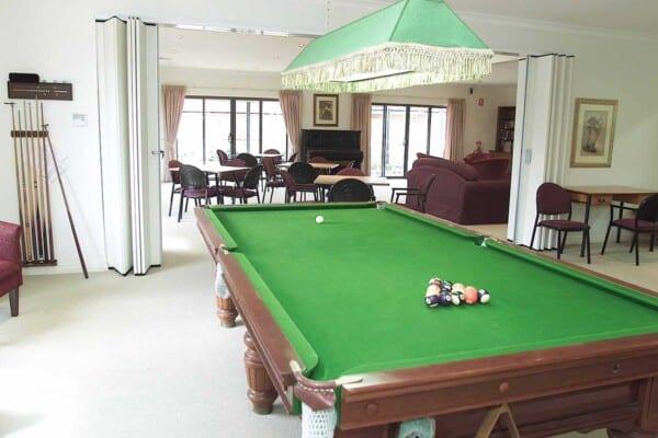 Billiards at Norfolk