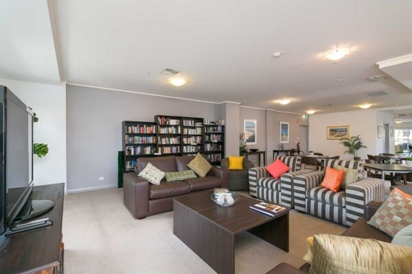 Luxurious social room at Avista Glenelg Community Centre