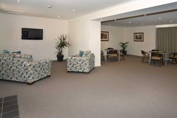 Open living inside Albion Community Hall