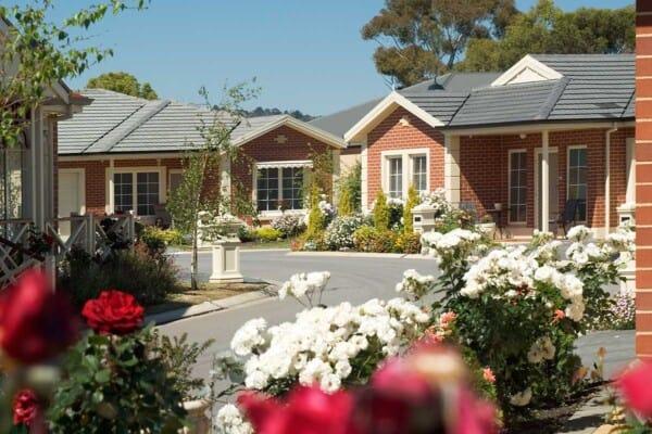 Beautiful Villas and lush gardens at Norfolk