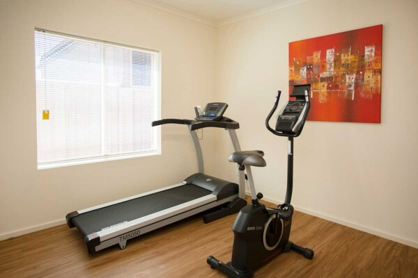 Stay active and healthy with Acacias fully equipped gym