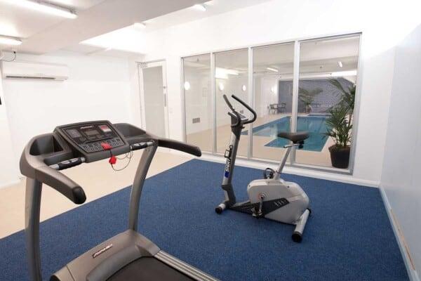 Fully equipped Gym at Avista Glenelg