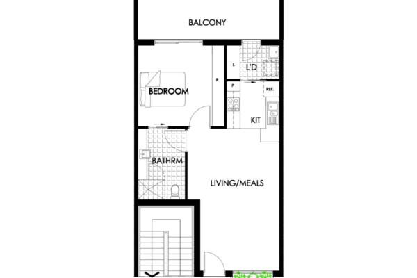 Floorplan - 308-309/30a Norfolk Road