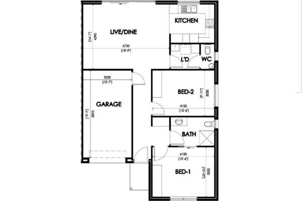 1 (34A) Marshall Terrace floorplan