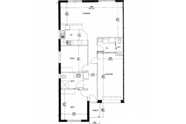 9 Acacia on Henley floorplan