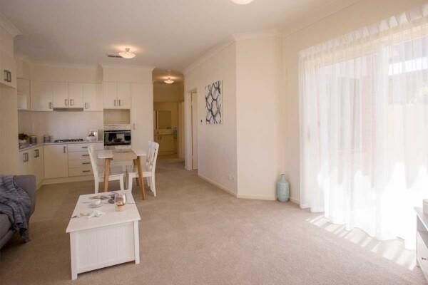 Open plan living - 6B, 6C & 6D/33-45 Lipsett Terrace