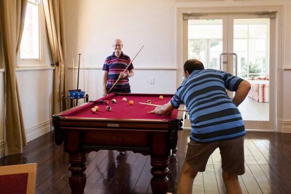 Billiards at Acacia Park