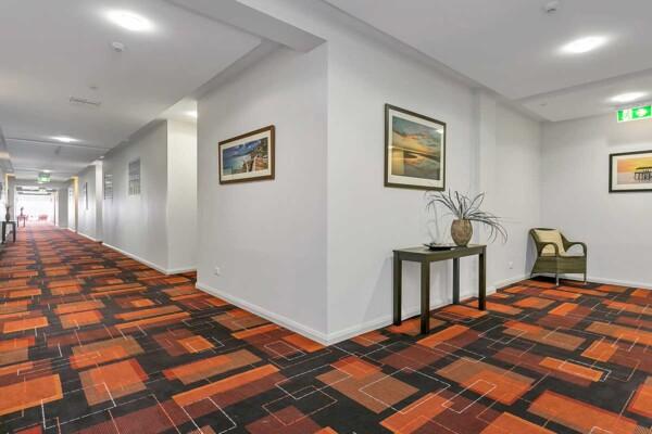 Hallways at Avista Glenelg