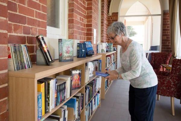 Library at Acacia on Lipsett