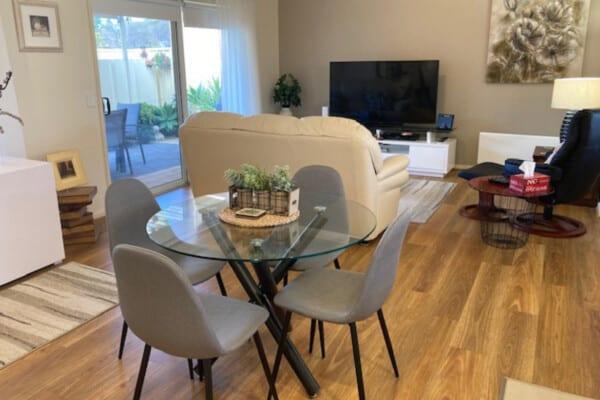 Open living / dining - 1/452 Henley Beach Road